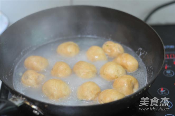 油面筋焖粉条怎么吃