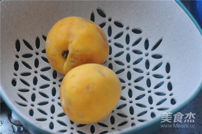 鲜榨黄桃汁的做法大全