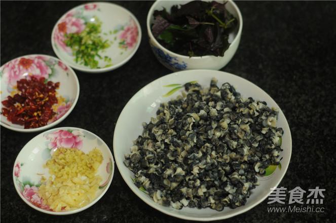 紫苏炒田螺的做法图解