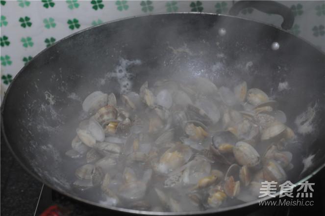 炒花蛤的做法图解