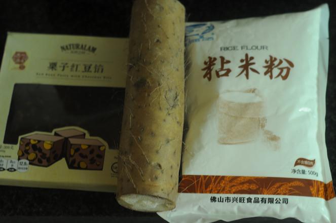 山药大米红豆糕的做法大全