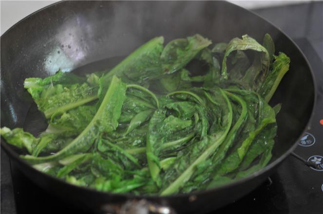 蒜香油麦菜的做法大全