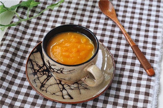 南瓜浓汤成品图