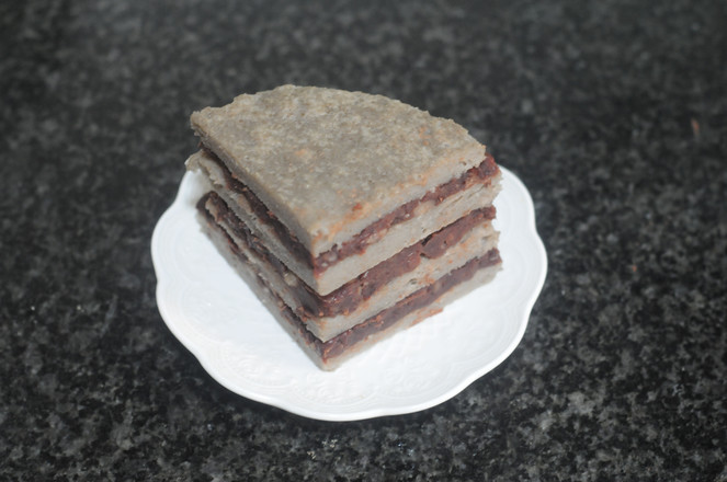 山药大米红豆糕怎样炖