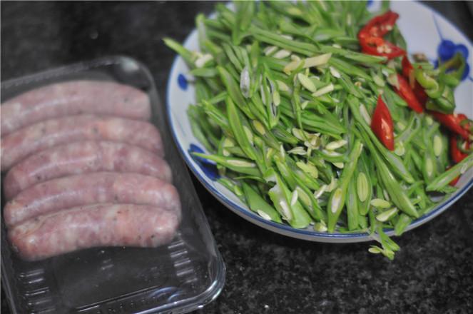 四季豆炒肉肠的做法大全
