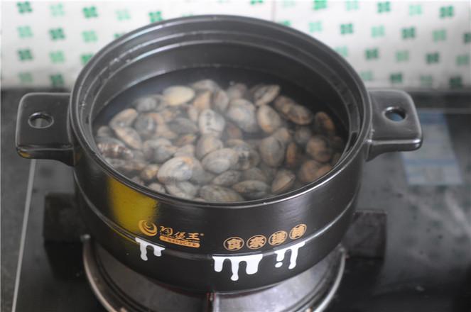 葱香蛤蜊的家常做法
