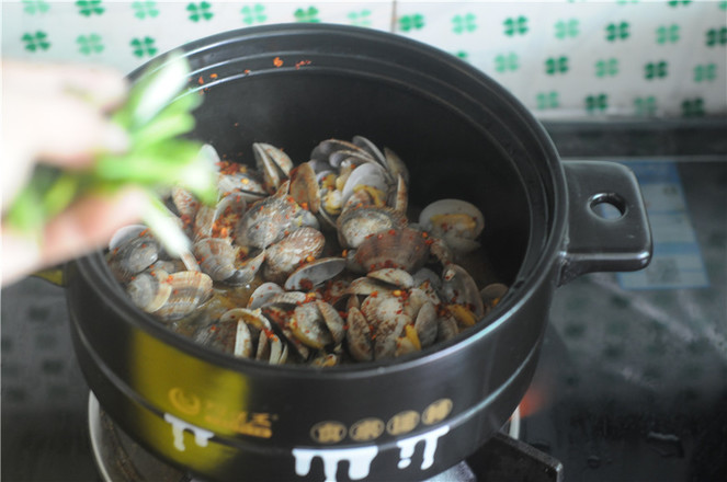 葱香蛤蜊怎样炒
