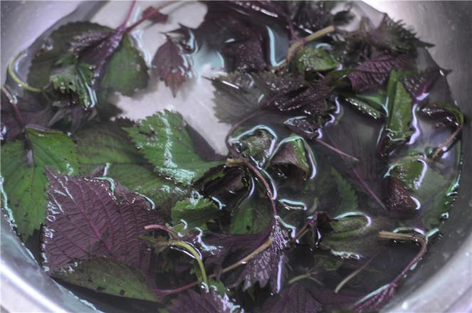 紫苏炒排骨的做法图解