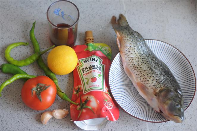 茄汁鱼的步骤