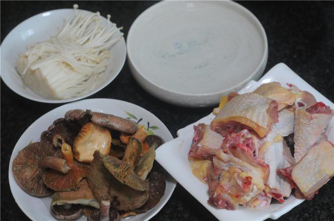 小鸡炖蘑菇的做法大全