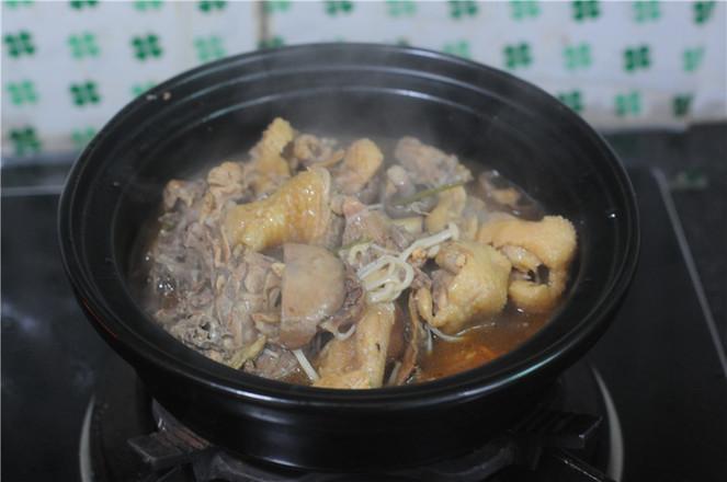 小鸡炖蘑菇怎么炒