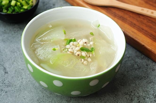 冬瓜薏米汤怎么吃