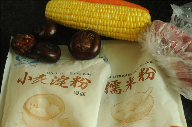 玉米马蹄水水晶饼的做法大全