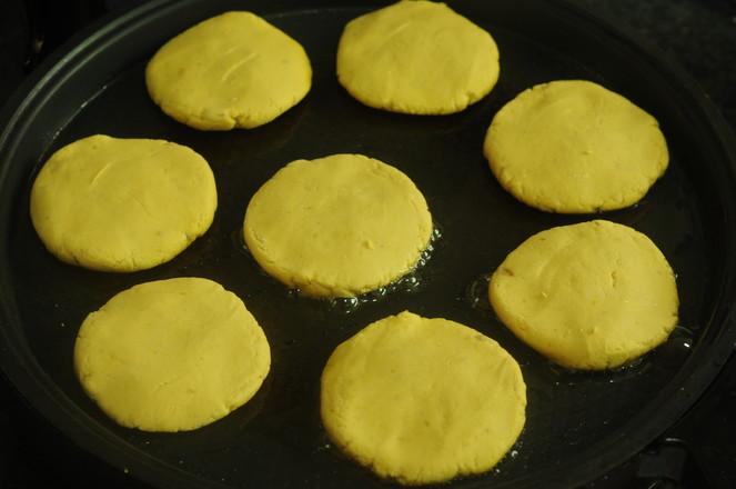 糯米紅豆餅的步驟