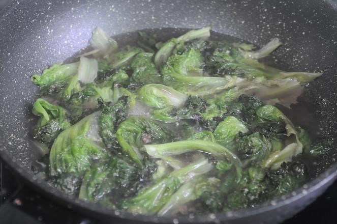 油煮生菜的简单做法