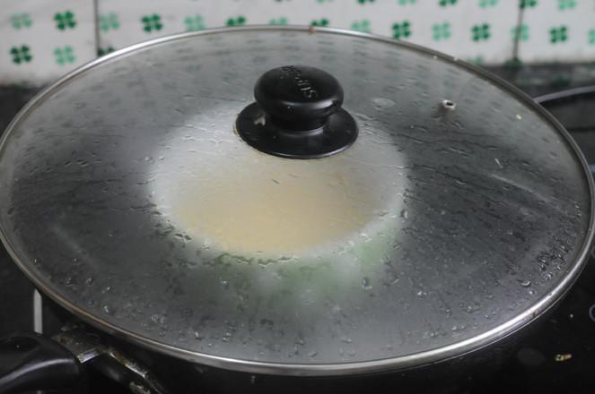 香葱金针菇蒸蛋怎么炒