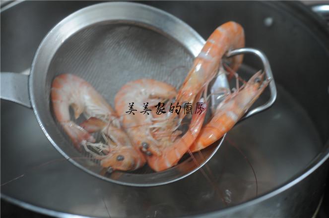 一帆风顺——黄瓜虾卷的家常做法