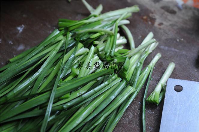 黄豆芽粉丝炒韭菜的做法图解