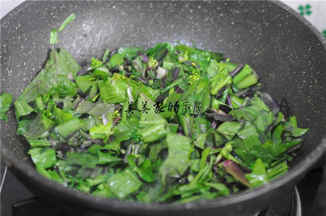 蒜香柳叶红菜苔怎么吃