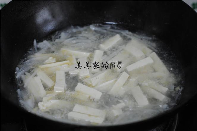 萝卜丝豆腐汤怎么做