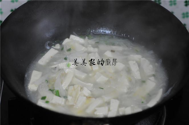 萝卜丝豆腐汤怎么煮