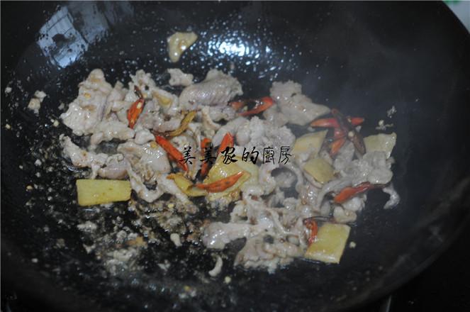 白菜苔炒肉片怎么吃