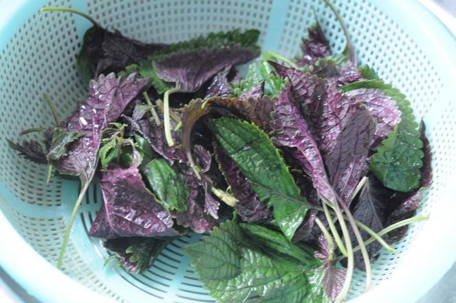 紫苏炒猪颈肉的做法图解