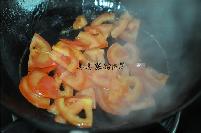 西红柿丝瓜汤的家常做法