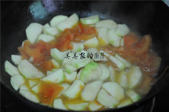 西红柿丝瓜汤怎么吃