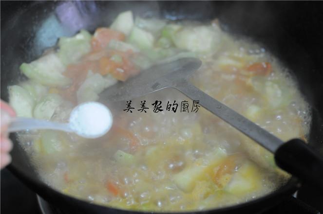西红柿丝瓜汤怎么做