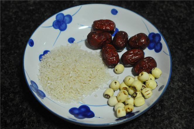 山楂红枣莲子粥的做法大全