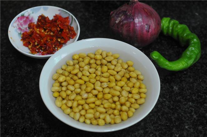剁辣椒拌黄豆的做法大全