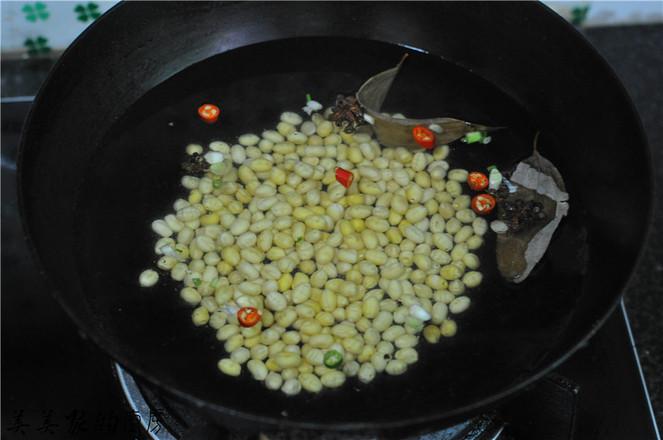 剁辣椒拌黄豆的家常做法