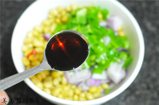 剁辣椒拌黄豆怎么炒