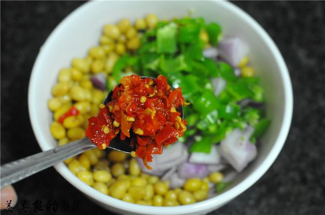 剁辣椒拌黄豆怎么煮