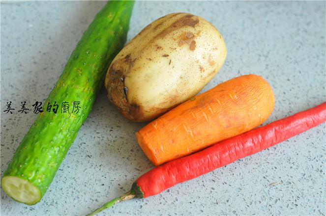 肉末蔬菜干锅的做法大全