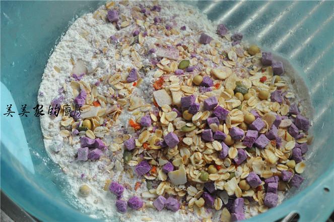 燕麦紫薯小丸子的做法大全