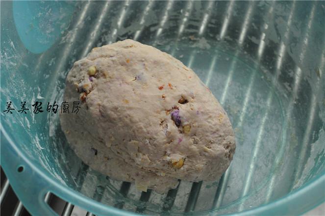 燕麦紫薯小丸子的做法图解