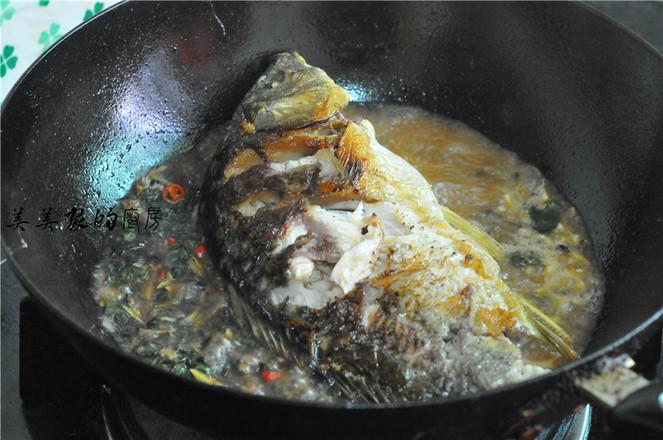 紫苏烧鲤鱼怎么煸