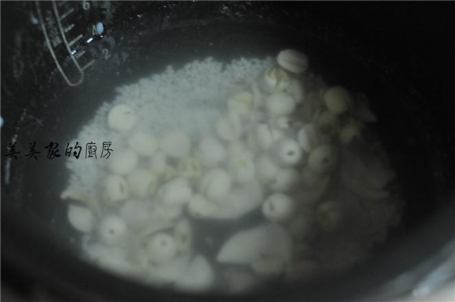糯米莲子百合粥的简单做法