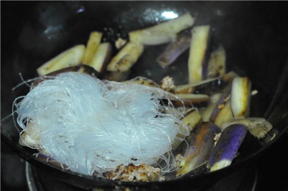 粉丝茄子煲怎么煮