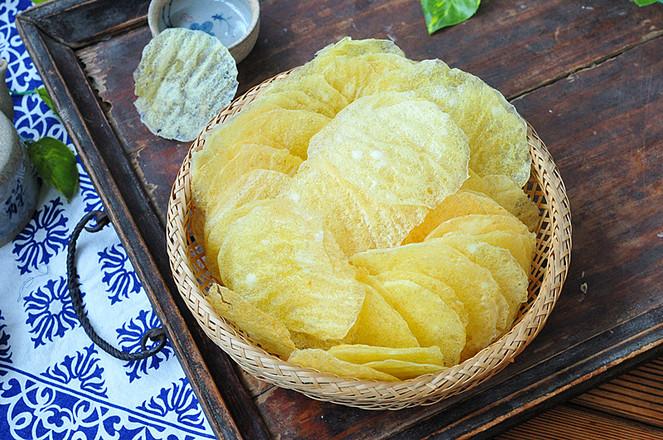 天然薯片成品图