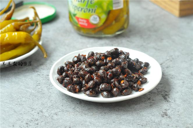 黑豆豉炒腌绿辣椒的家常做法
