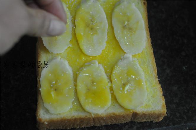 香蕉烤土司怎么吃