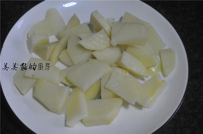 青椒土豆片炒腊肉的做法大全