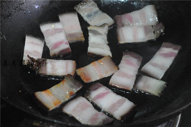 青椒土豆片炒腊肉的简单做法