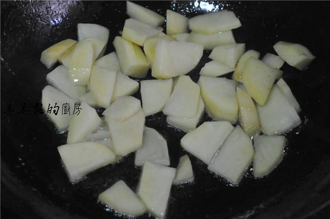 青椒土豆片炒腊肉怎么吃