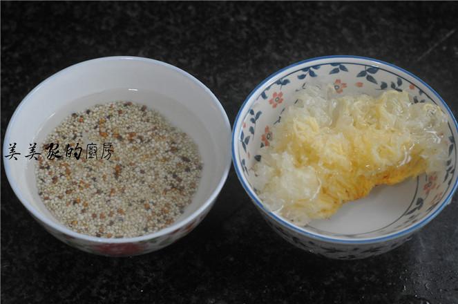 银耳藜麦甜汤的做法图解