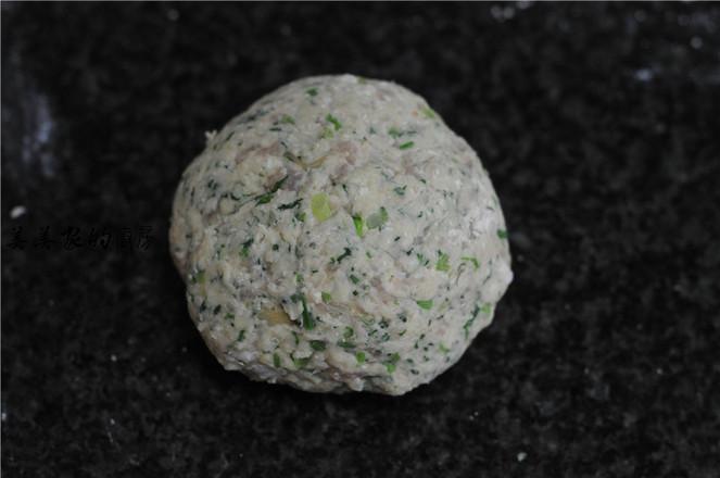 菠菜白面肉团怎么吃