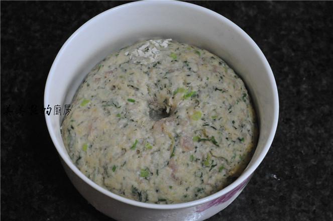 菠菜白面肉团怎么做